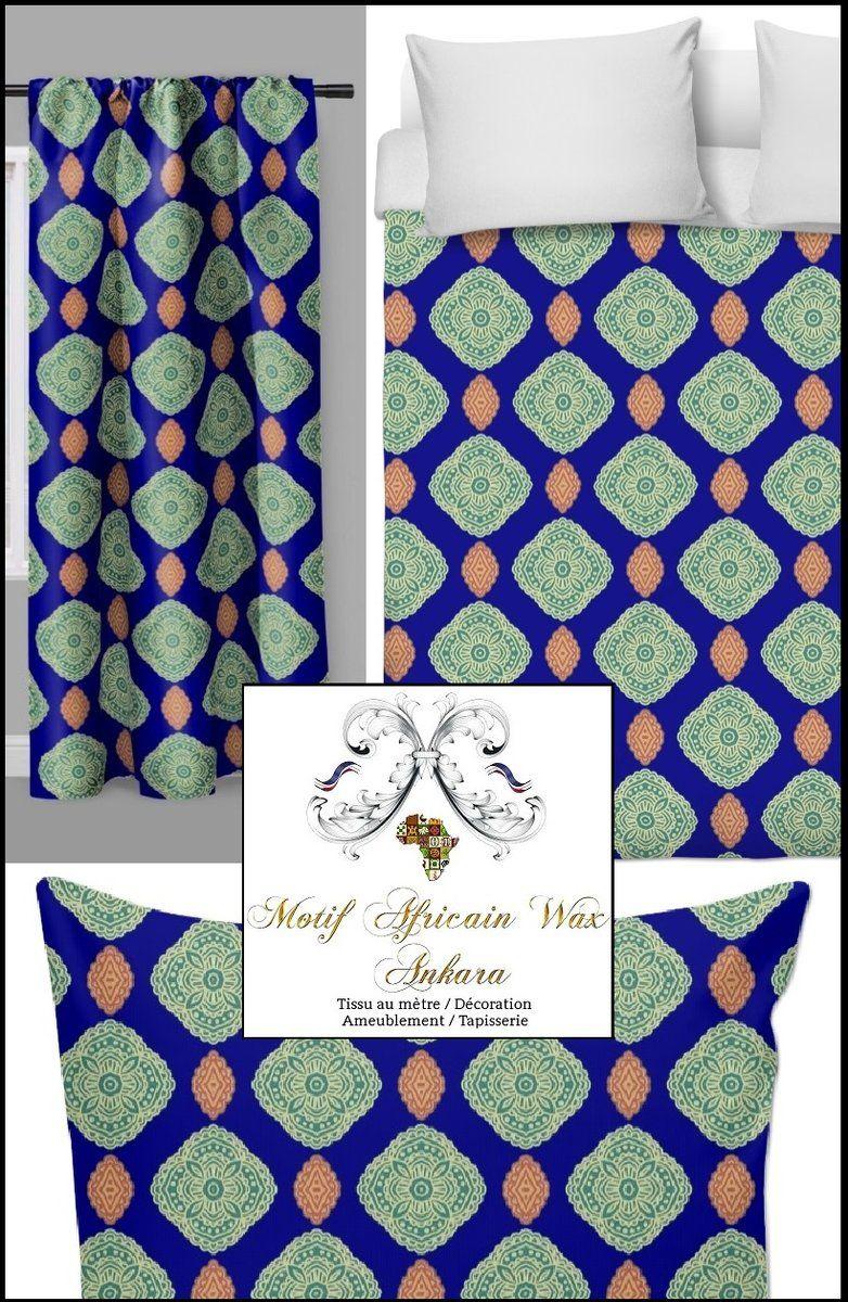 Tissu Decoration Africaine Au Metre Rideau Couette Tapisserie Siege Decoration Africaine Couette Rideaux