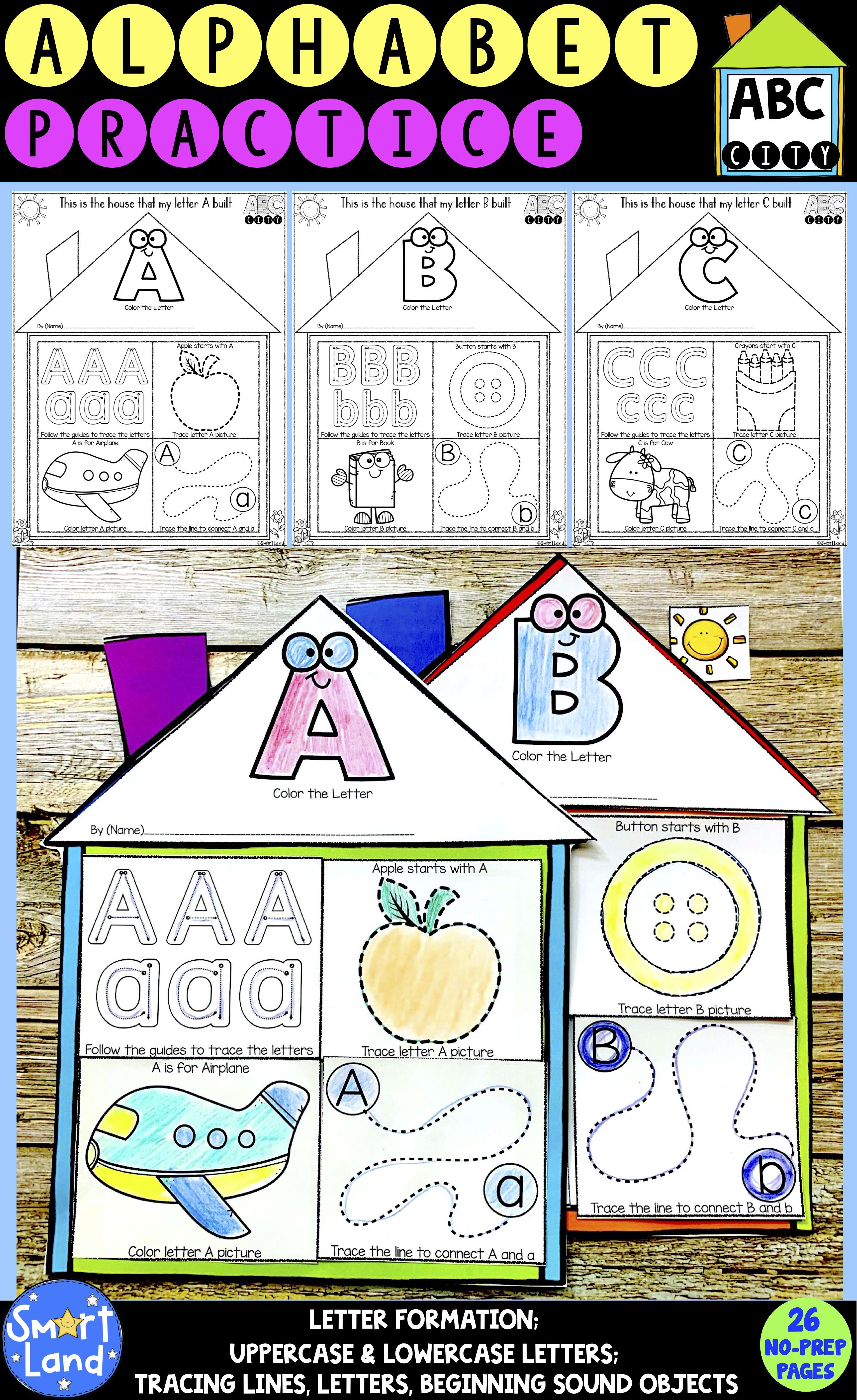 Alphabet Handwriting Practice Abc City In