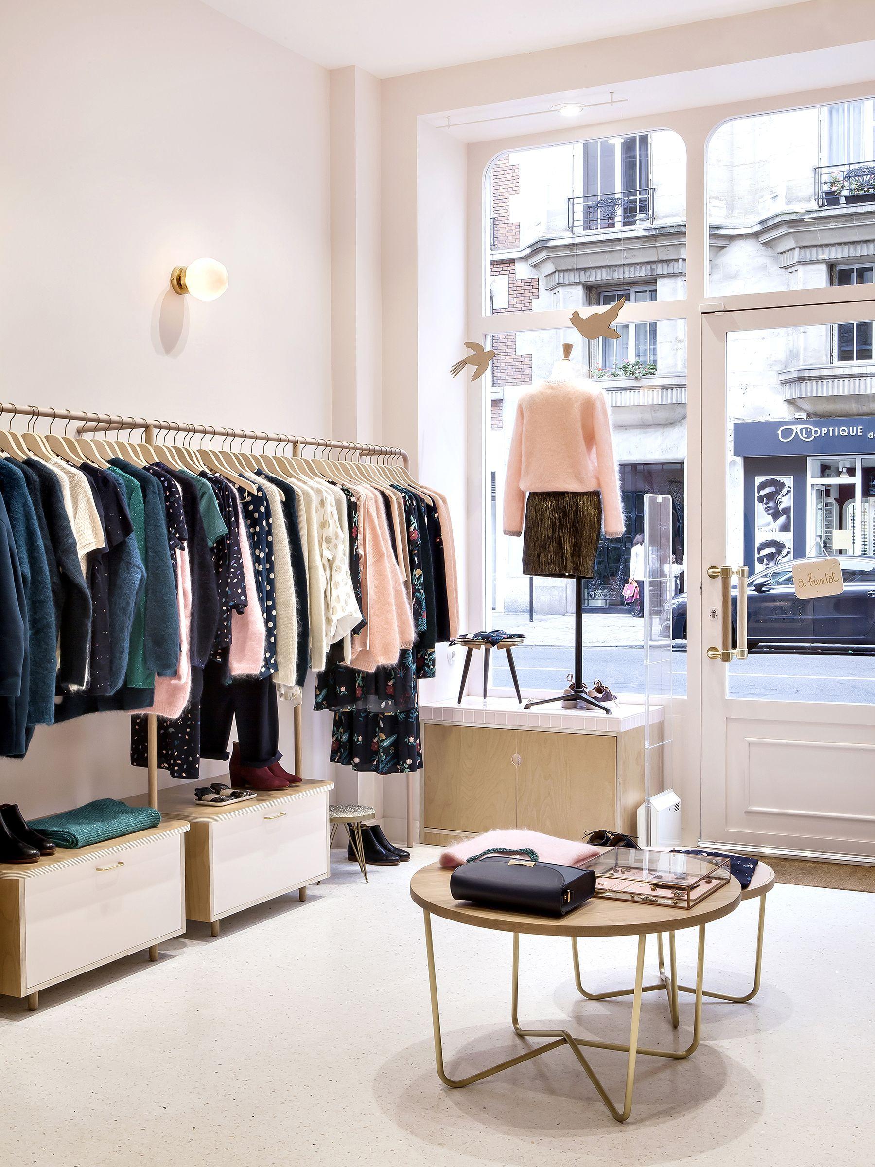 Renovation Boutique Des Petits Hauts A Paris Heju Studio