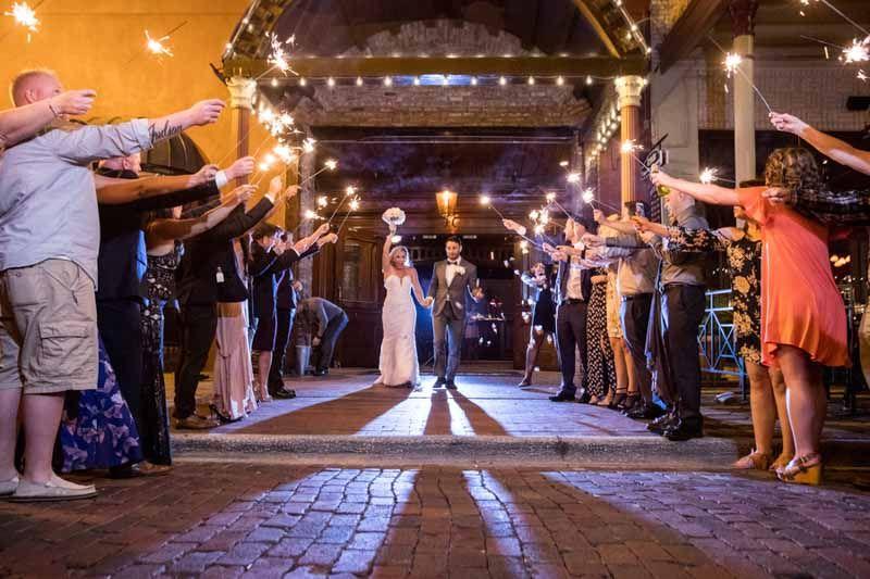 Sparkler Send Off-Ceviche Orlando Wedding-Downtown Orlando Wedding ...