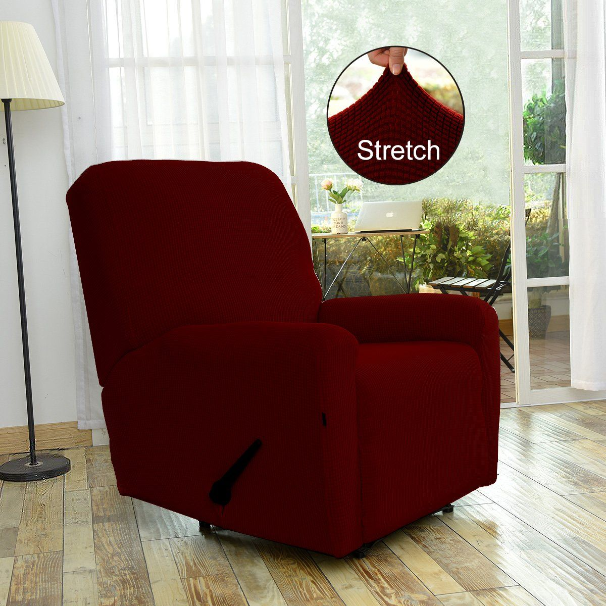 Easygoing Recliner Stretch Sofa Slipcover Sofa Cover 4pieces Furniture Protector Couch Soft With Elastic Bottom Kidspoly In 2020 Furniture Sofa Covers Slipcovered Sofa