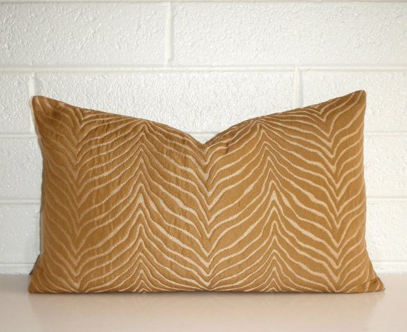Lumbar Pillow 8x16 Petite Lumbar Butterscotch Pillow Throw