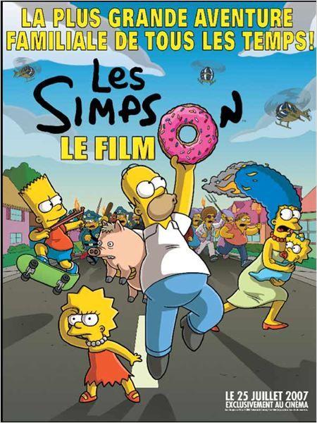 Les Simpson Le Film Affiche David Silverman Matt Groening The Simpsons Movie The Simpsons Full Movies Online Free
