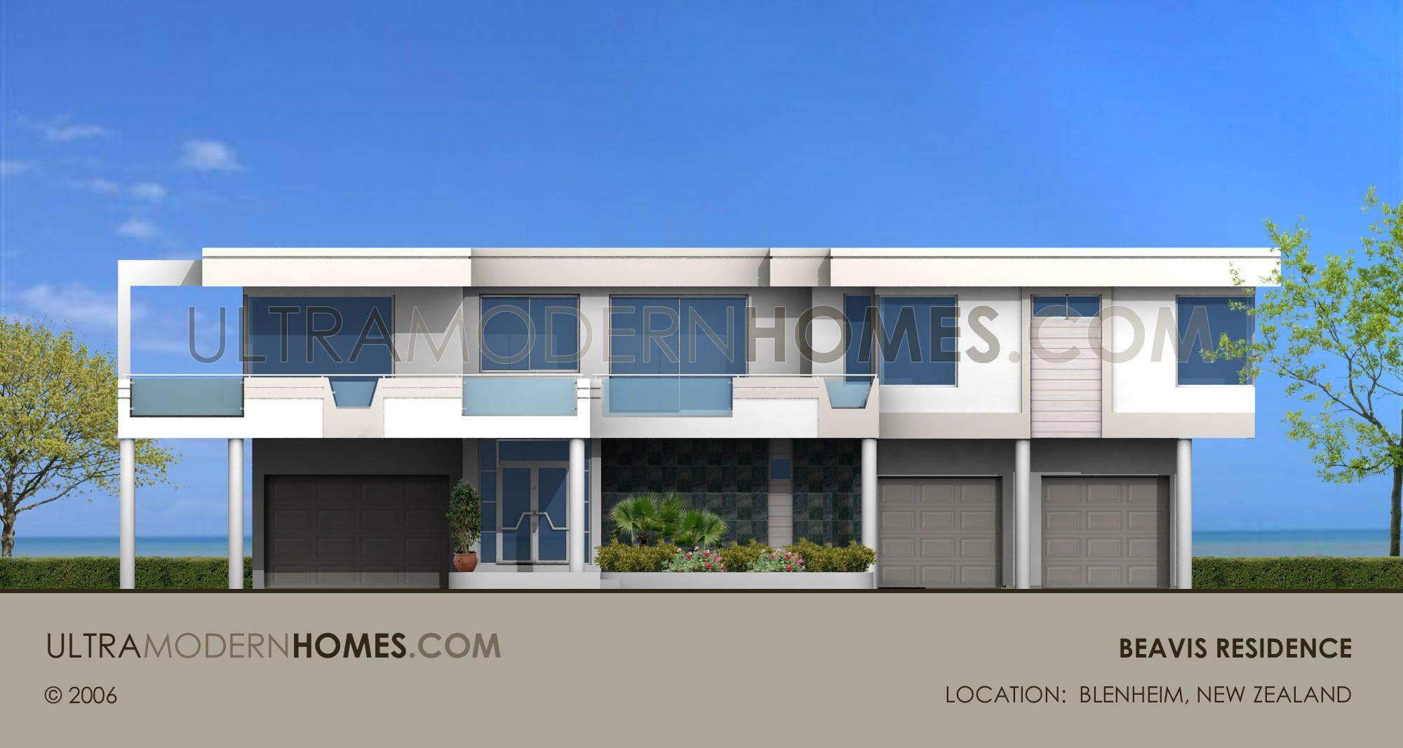 Ultra Modern Contemporary Custom Home Design By