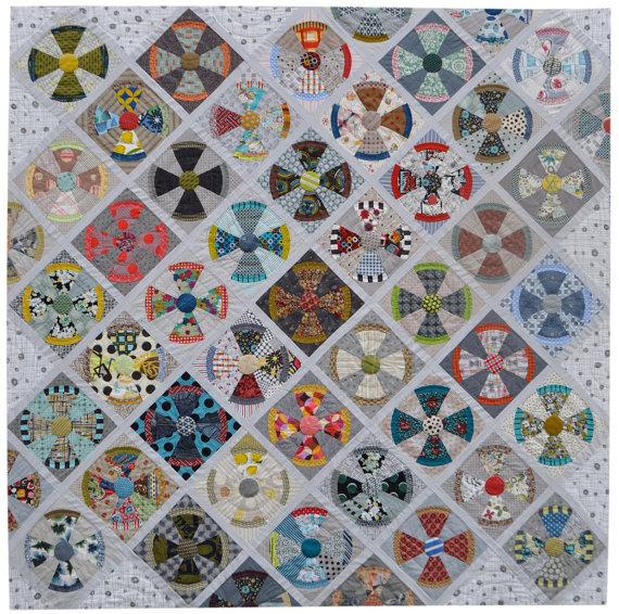 ON SALE Steam Punk Quilt Pattern By Jen Kingwell Designs Australia ... : steampunk quilt pattern - Adamdwight.com
