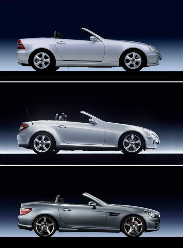 Mercedes Benz Slk Class Design And Technical Evolution Through The Years 1997 2011 With Market Value Analysis Mercedes Benz Slk Mercedes Slk Mercedes Slk 230