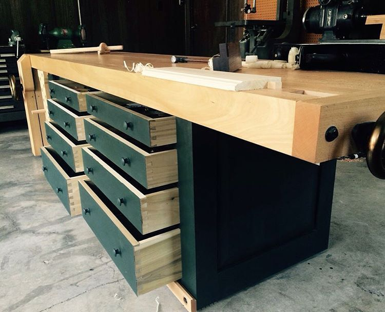 Sean Solomon On Instagram I Liked The Anarchist S Tool Chest So Much That I Diligently Took Lostartpress Woodworking Workbench Workbench Designs Tool Chest