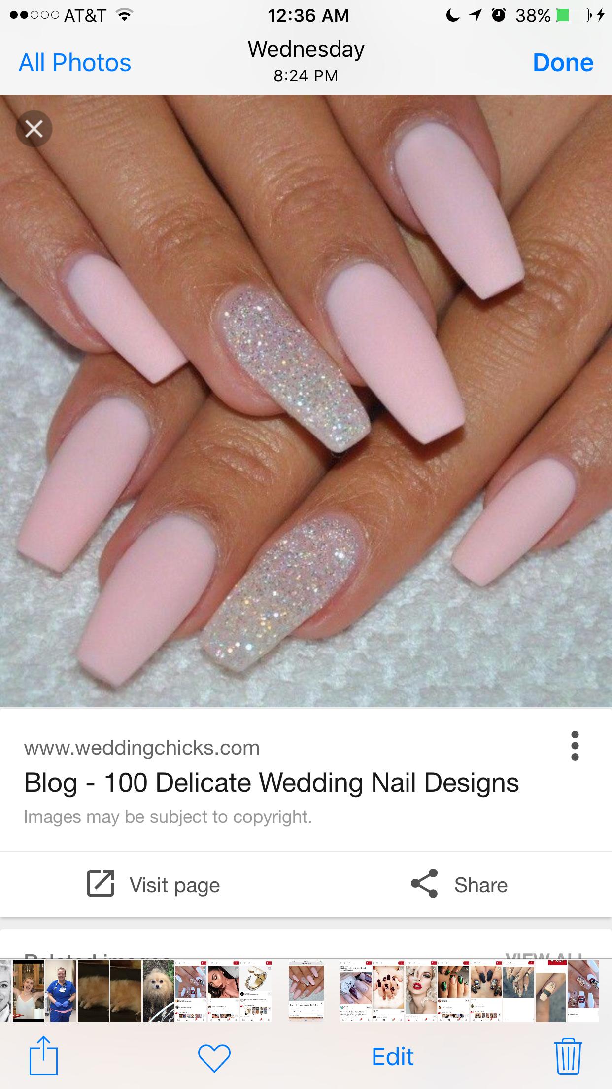 Pin by Erin Dunn on Nail designs | Pinterest | Nail nail, Prom nails ...