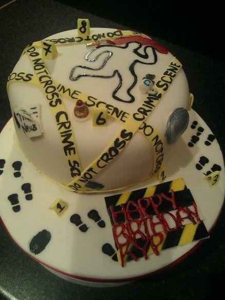 Csi By Caketindelights Cakesdecor Com Cake Decorating