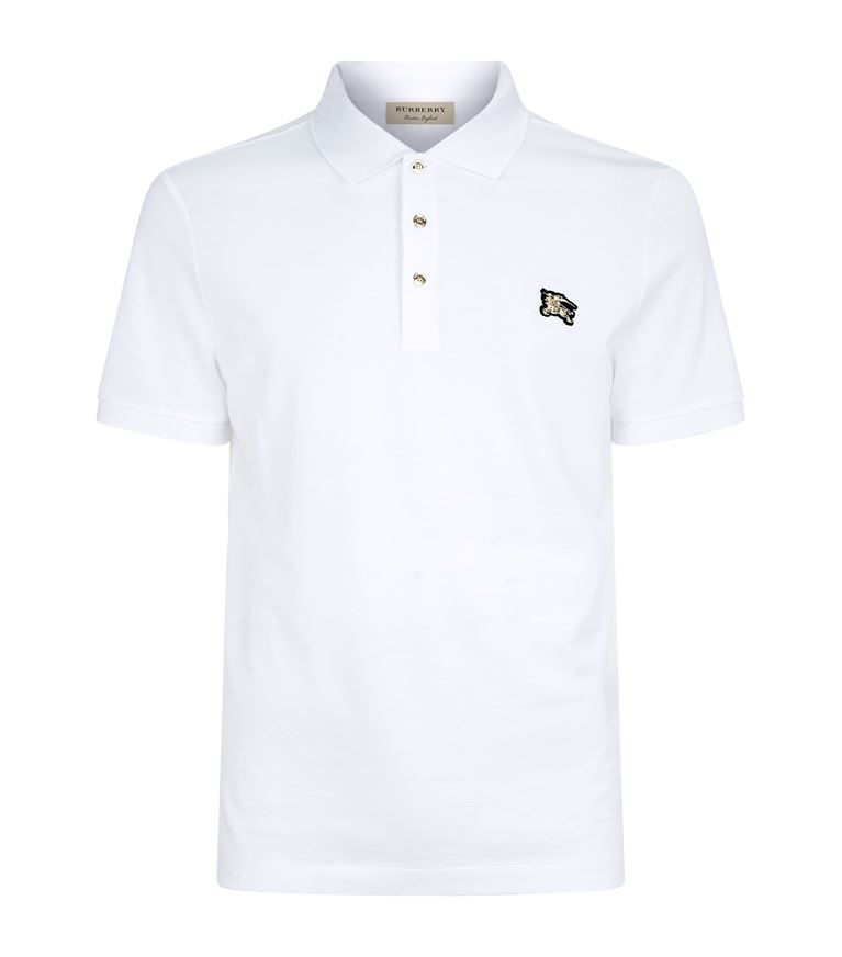 42c211c24 BURBERRY Equestrian Knight Polo Shirt.  burberry  cloth   Burberry Shirts  For Men