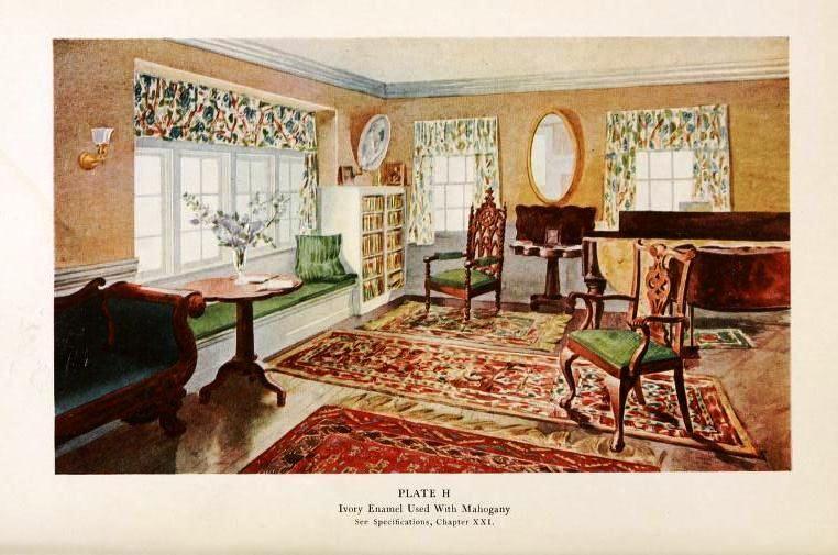 Your Home It S Decor 1910 Vintage Interiors Vintage House Decor