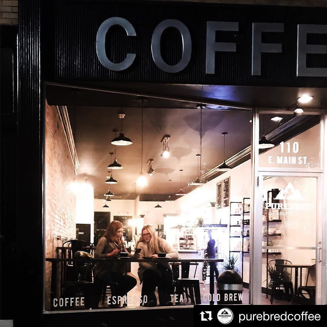 Have you been to the new coffee shop in downtownTroy