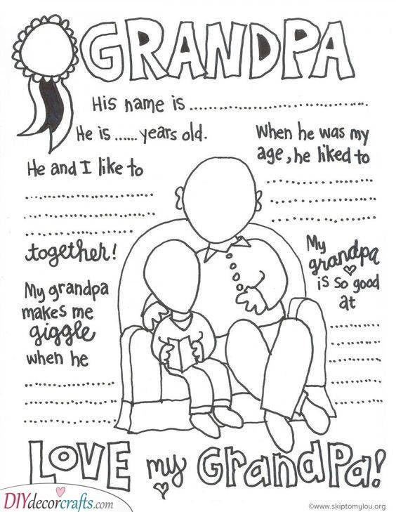 Fun Facts About Grandpa - A Heartwarming Gift #grandpagifts