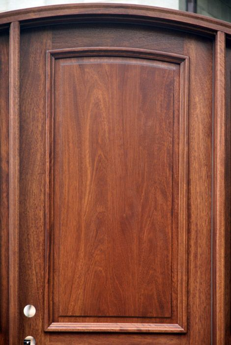Arched Doors Exterior Arched Top Doors Mahogany Door Mahogany