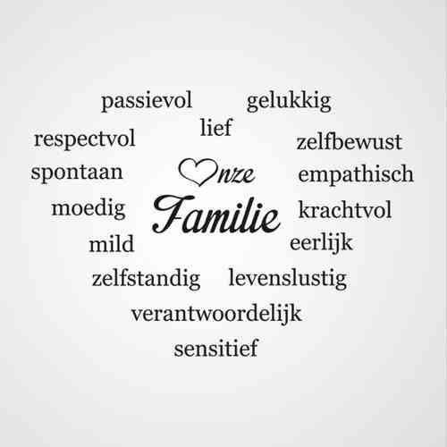 Leuk als gezins tekst