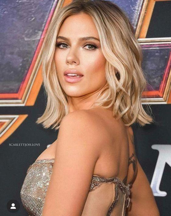 Photo of Scarlett Johanson Hairstyles