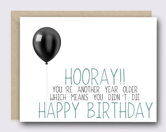Greeting Card Funny Birthday Card Birthday Card Funny Cards Fonts