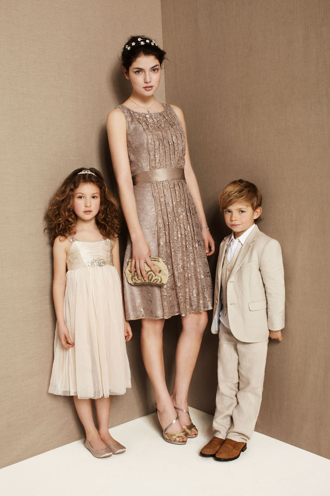 Flower girl dresses u page boy outfits bridesmagazine