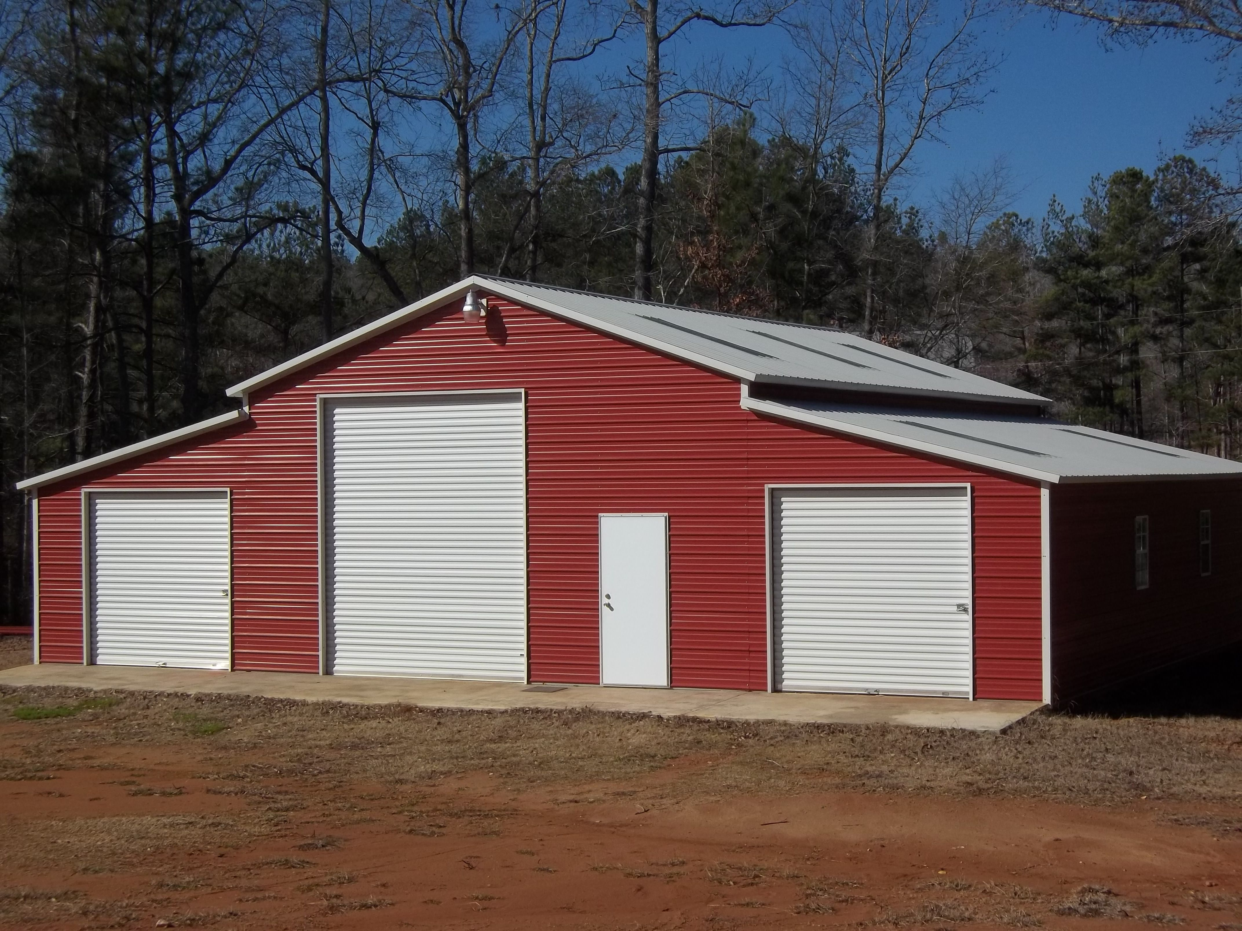 options enclosed buildings direct garage style roof vertical wholesale garages carports metal customization