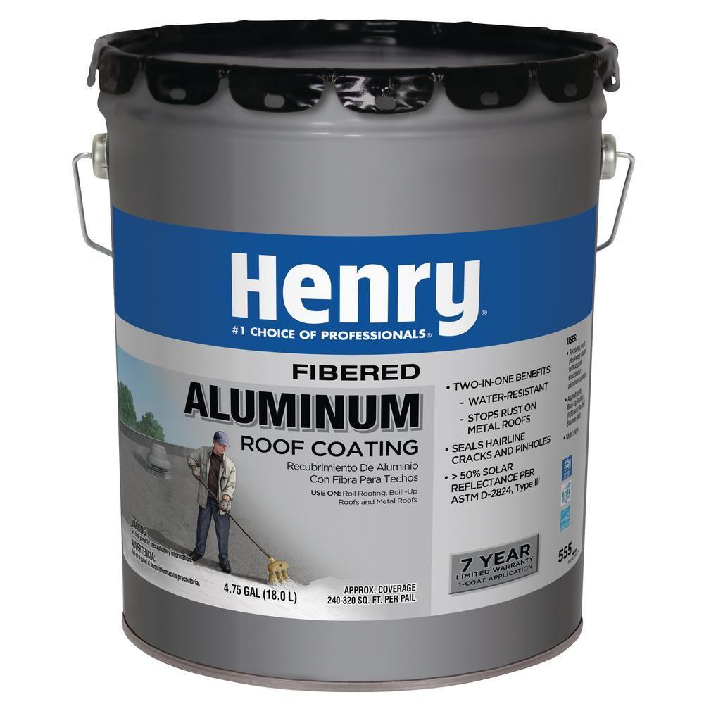 Best Henry Henry 555 Premium Fibered Aluminum Reflective Roof 400 x 300