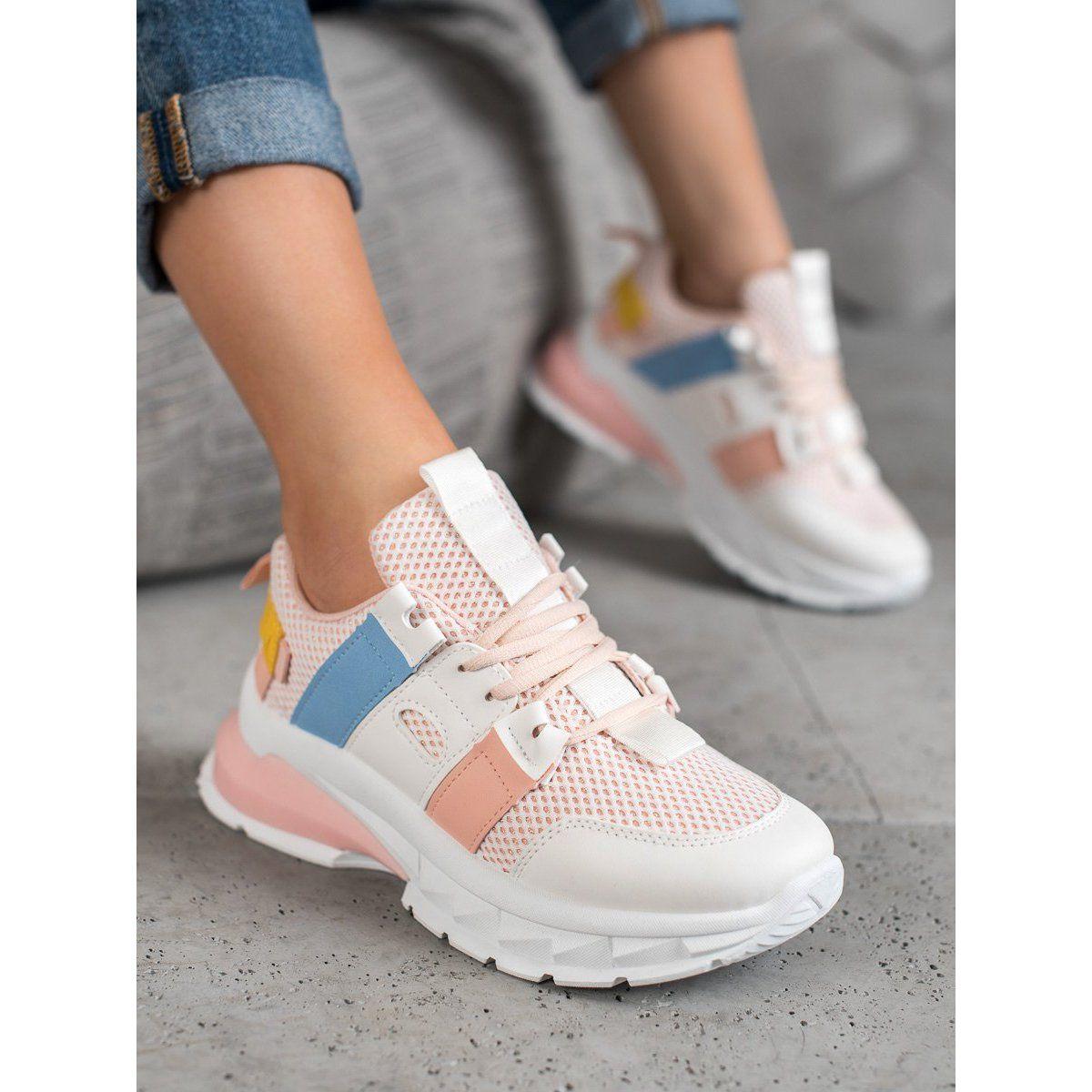 Seastar Kolorowe Sneakersy Z Siateczka Biale Wielokolorowe Sneakers Nike Sneakers Nike
