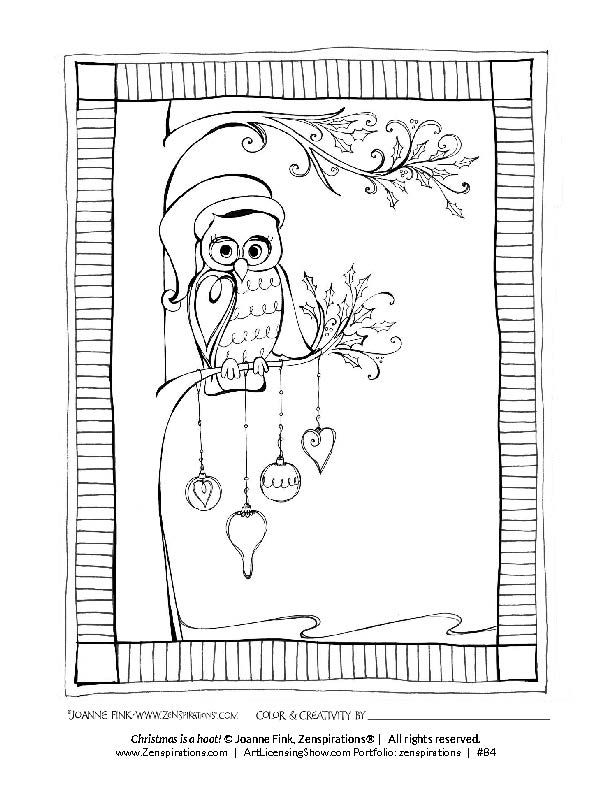 Free Coloring Book Design By Joanne Fink Of Zenspirations