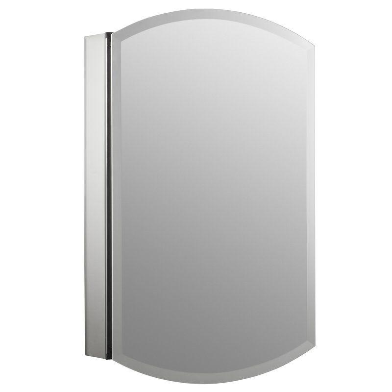 Kohler Archer 20 X 31 Single Door Frameless Mirrored Medicine Cabinet Medicine Cabinet Mirror Wall Mounted Medicine Cabinet Easy Bathroom Updates