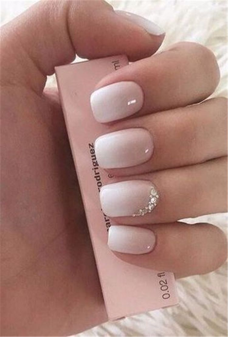 Spring Square Acrylic Nails Designs Square Acrylic Nails Spring Nails White Nails Pink Nails Acrylic Nails Sq Cute Spring Nails Special Nails Ombre Nails