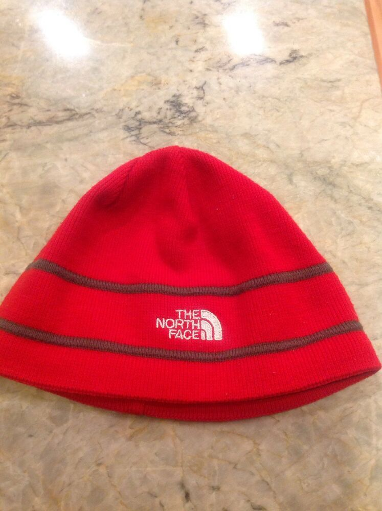 51a1461d74c The Northface North Face Authentic Kids Winter Beanie Hat Red  fashion   clothing  shoes  accessories  kidsclothingshoesaccs  boysaccessories (ebay  link)