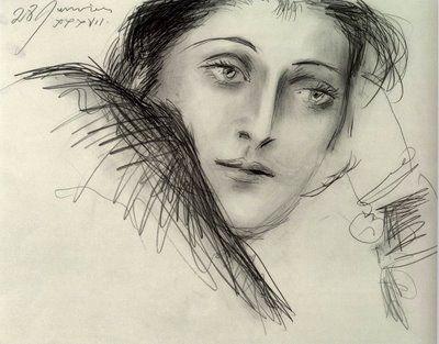 Pablo Picasso, Portrait de Dora Maar, 1937 on ArtStack #pablo-picasso #art
