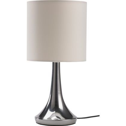 Chrome touch table lamp cream bedroom design pinterest touch chrome touch table lamp cream aloadofball Images