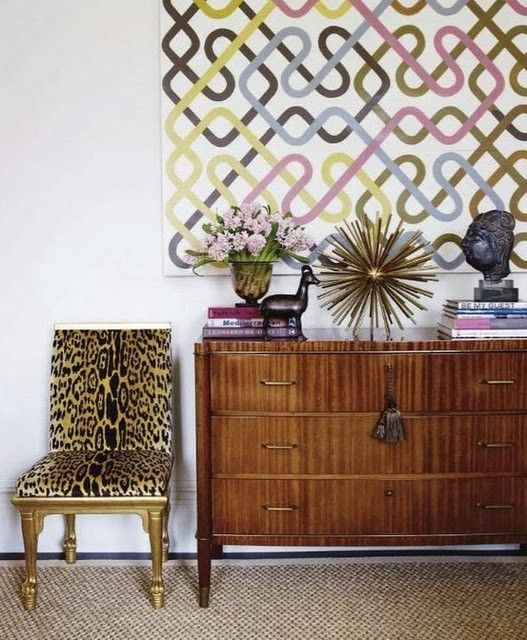 make fussy furniture less fussy with rad art- paris cool