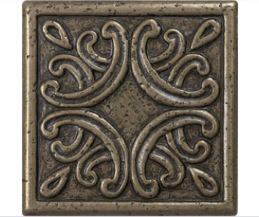 Lowes Bronze Metal Square Accent Tile 4x4 Accent Tile Kitchen