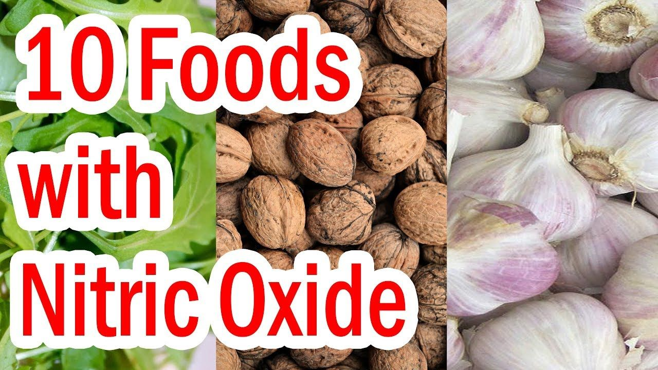 Top 10 Foods with Nitric Oxide - YouTube in 2021 | Nitric