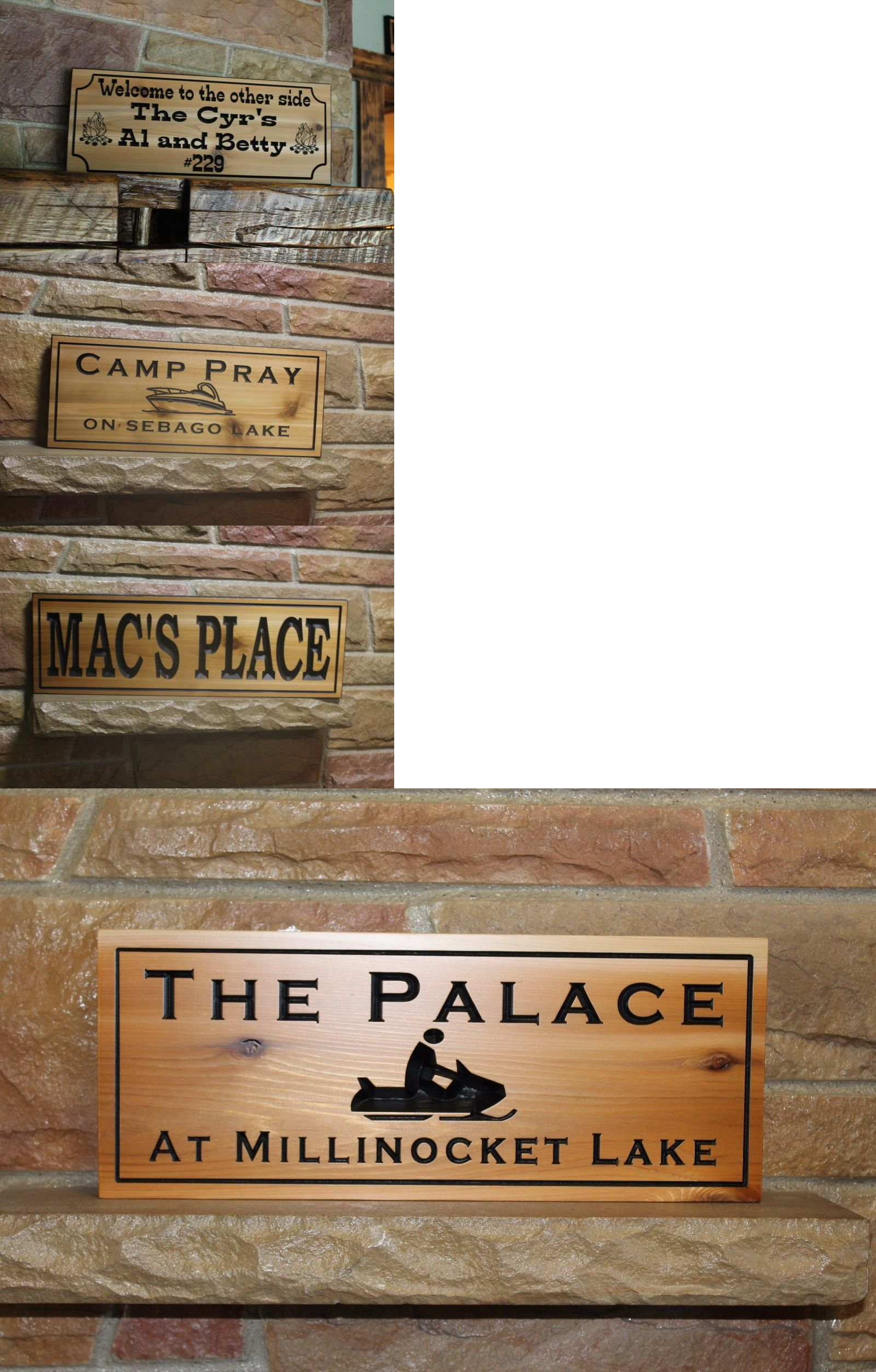 Plaques and signs personalized custom wood sign carved plaque