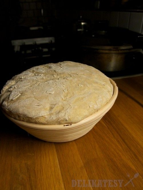 Nakysnutý chlieb + ošatka