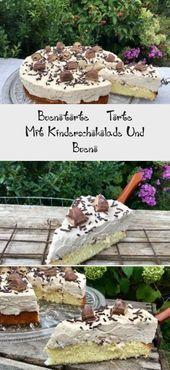Buenotorte – Kuchen mit Kinder Schokolade und Bueno   – Geburtstag Marius ❤️… – Schokoladenkuchen Rezepte