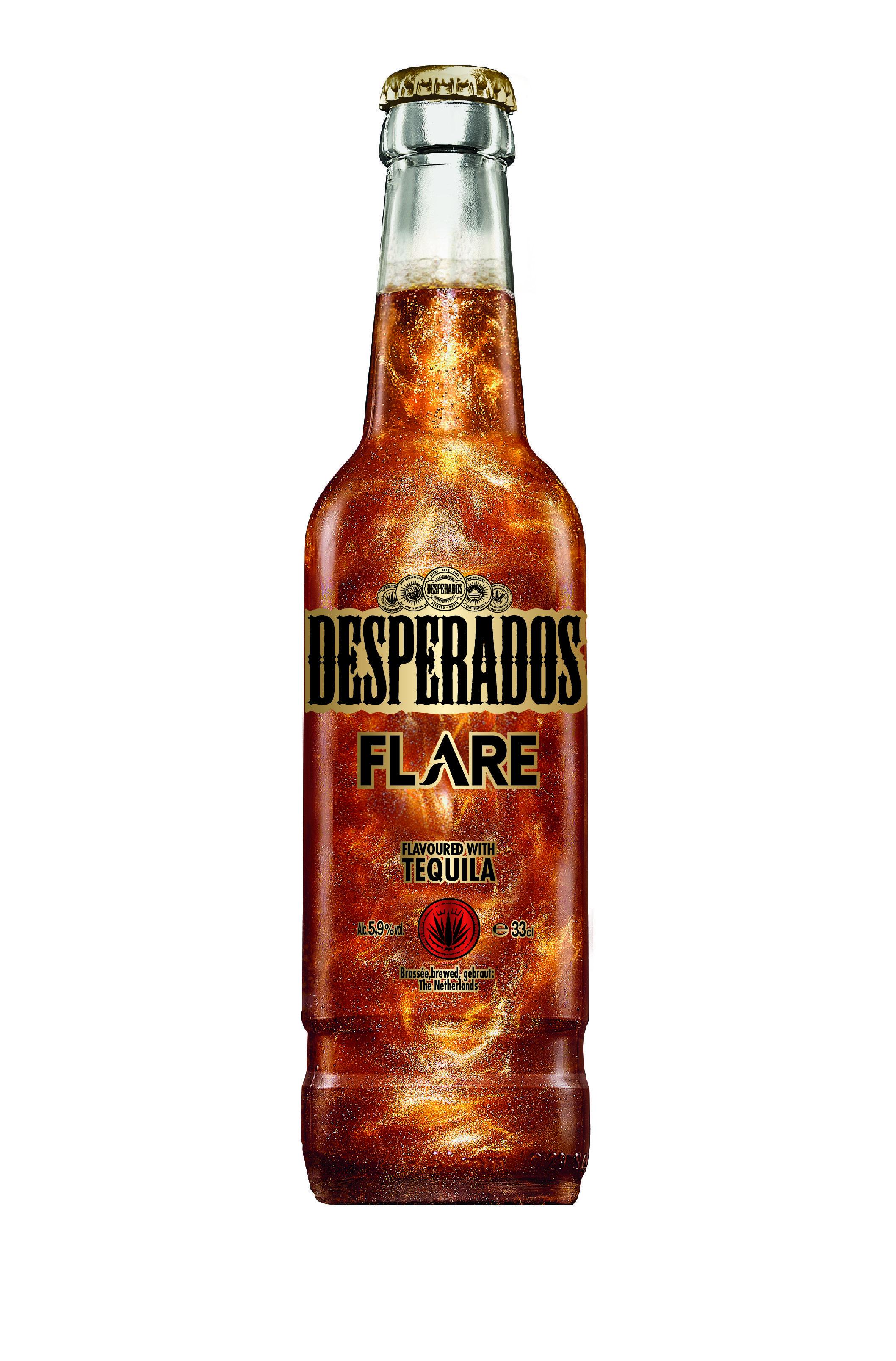 Desperados Flare Brasserie Fischer Heinekein Spirits Bottle Design Corona Beer Bottle Beer