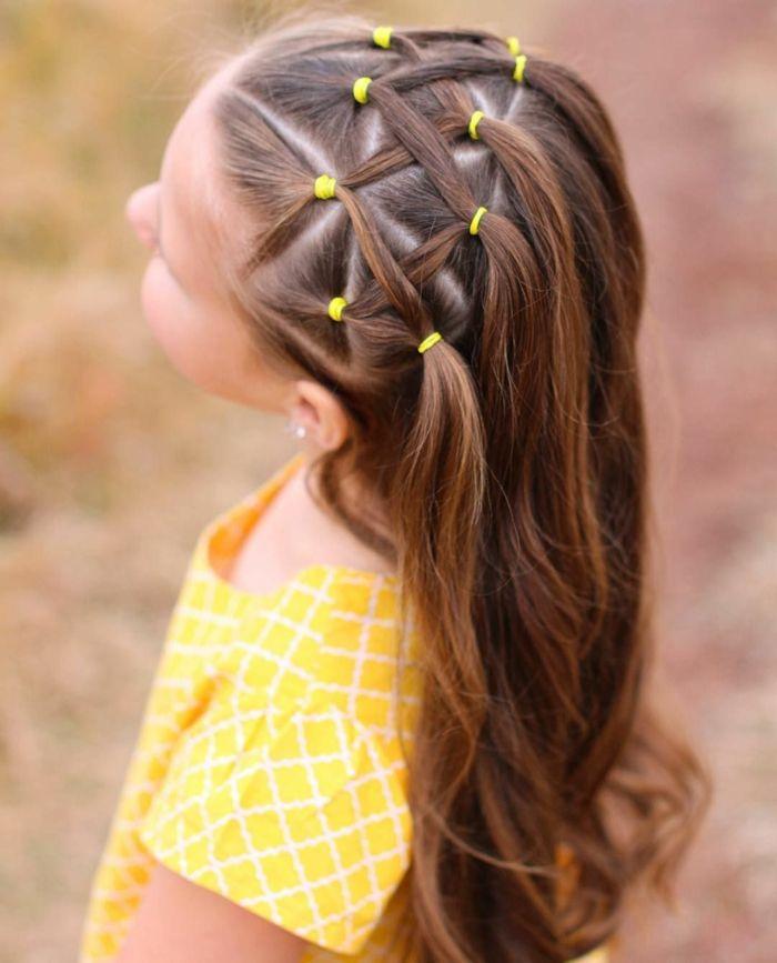 ▷ 1001 + Ideas Para Peinados Fáciles Para Niñas Con Trenzas Y Coletas - Hair Beauty