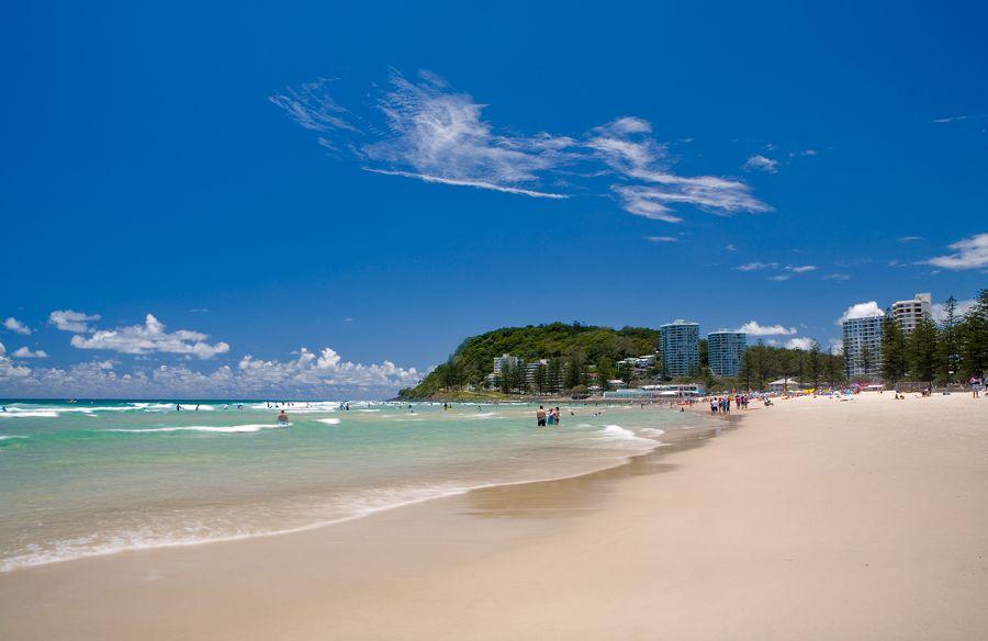 Burleigh Heads Beach Gold Coast Australia