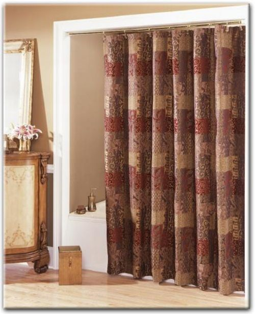 Bathroom Curtains How To Choose Them And Also Keep The Bathroom