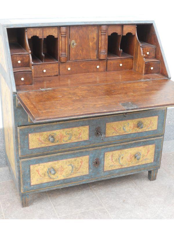 Cst694 mobili antichi tirolesi mobili dipinti mobili - Mobili dipinti tirolesi ...