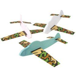 Happy Deals -Camouflage Gliders - Plastic Body, 12 Per Unit Of 6 Inches Long, 2015 Amazon Top Rated Airplane Construction Kits #Toy