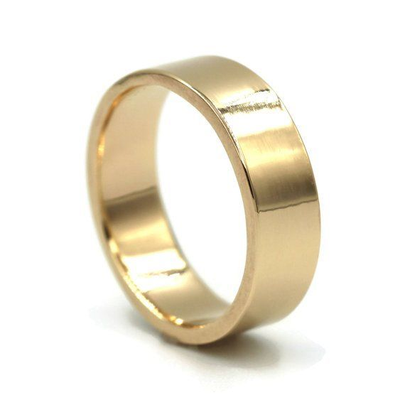 Wedding Band Men Gold Male Wedding Ring Mens Gold Ring Simple Wedding Ring Gold Plain Band Comfort F Mens Wedding Rings Gold Mens Gold Rings Mens Wedding Rings