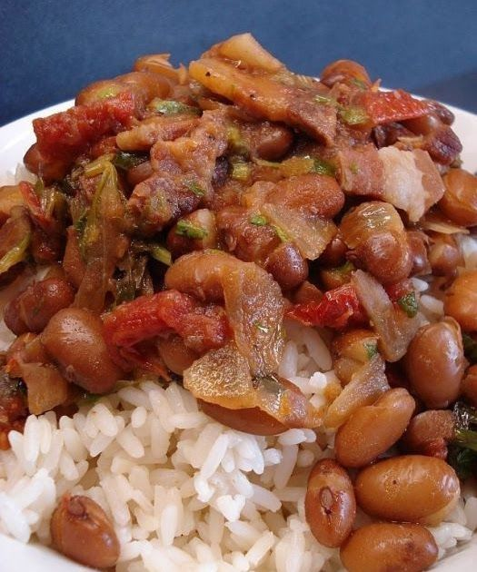 Brown Beans And Rice Or As We Say In Holland Bruine Bonen