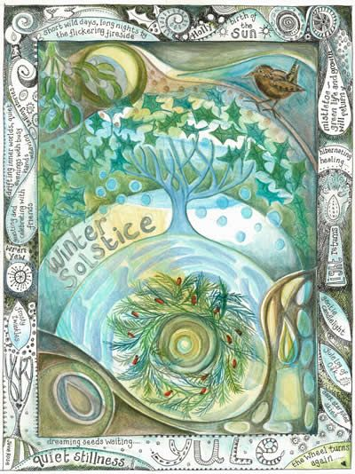 Yule, ancient earth holiday....Winter Solstice, astrological point in the year with great importance this year especially.