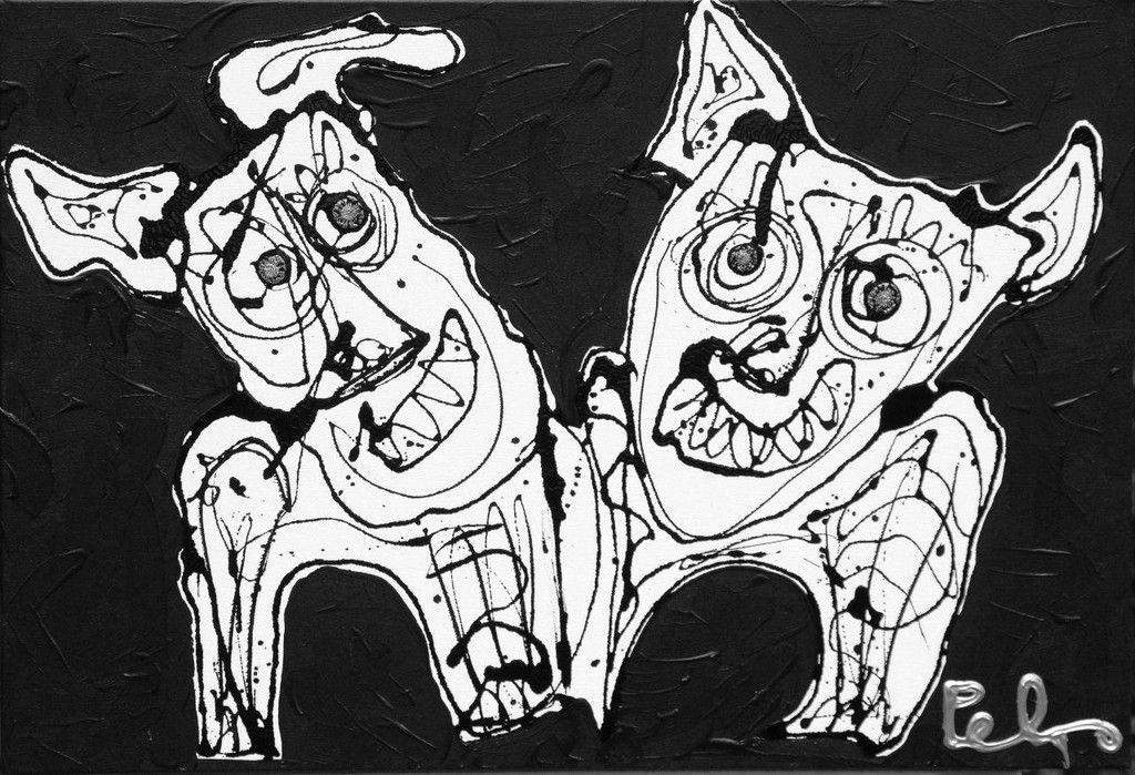 Verrassend moderne kunst zwart wit - Ik vind dit ook zeker geen kunst. Ik JZ-77