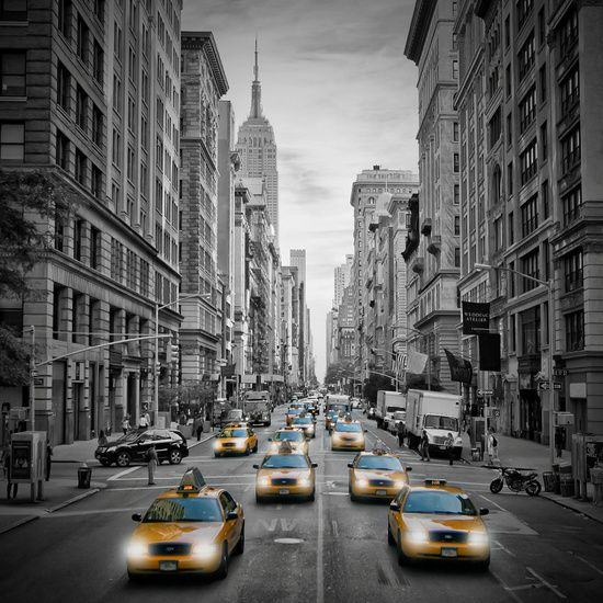 Neu in meiner Galerie bei OhMyPrints: 5th Avenue NYC Verkehr