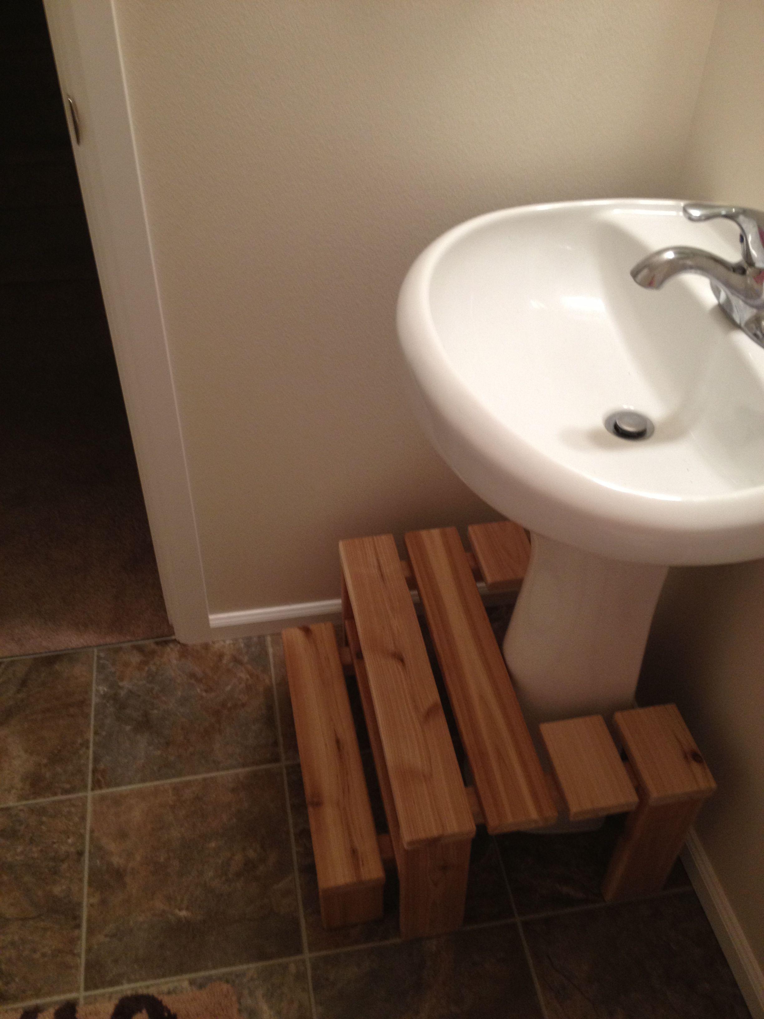 Small bathroom step stool | Ideas for Kids | Pinterest | Small ...