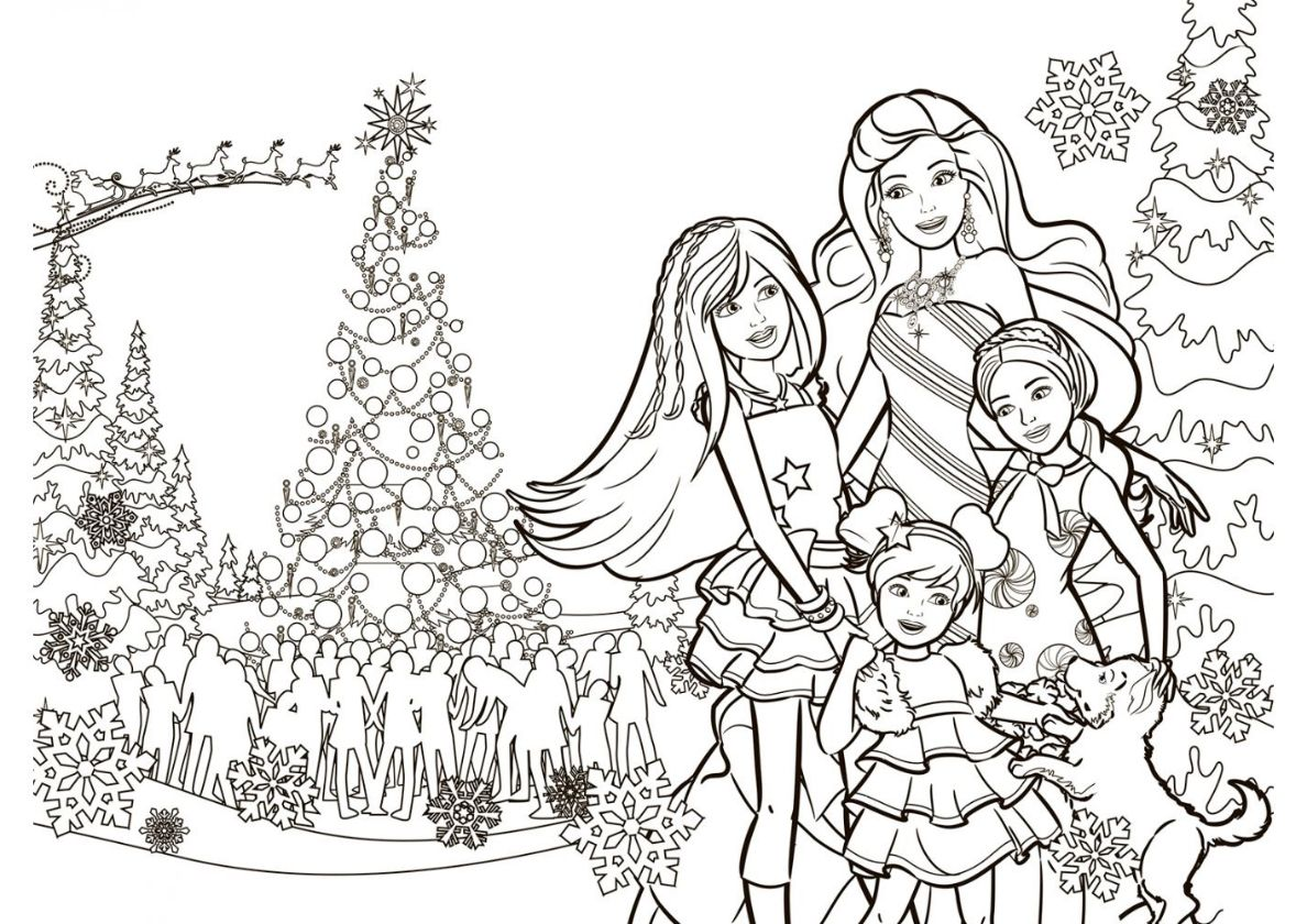 Christmas Mood - high-quality free coloring from the ...
